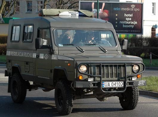 Wojskowy samochód