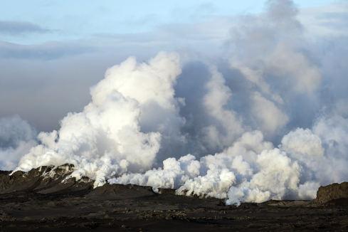 Wulkan Bardarbunga w Islandii