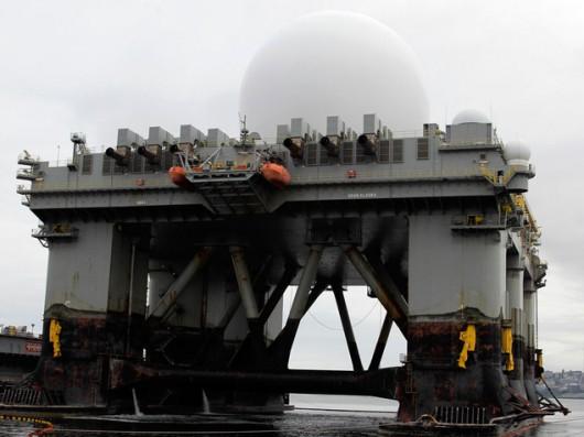 Amerykański radar SBX-1 a