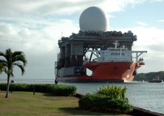 Amerykański radar SBX-1 b