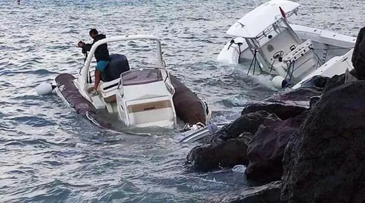 Bermudy - Huragan Gonzalo uderzył w wyspę 5