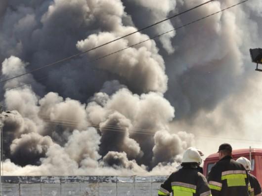 Bułgaria - Potężna eksplozja w zakładzie produkującym materiały wybuchowe 2