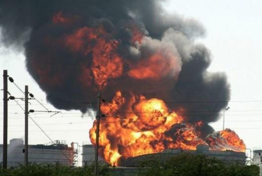 Bułgaria - Potężna eksplozja w zakładzie produkującym materiały wybuchowe 3
