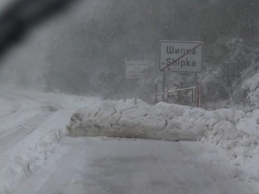 Bułgaria - Ulewny deszcz i śnieżyce paraliżują kraj, 30 tysięcy domów bez prądu 2