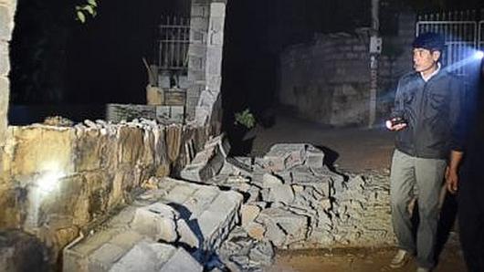 Chiny - Trzęsienie ziemi o sile 6.0 w skali Richtera 4