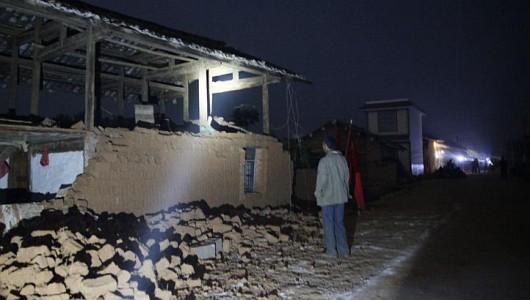 Chiny - Trzęsienie ziemi o sile 6.0 w skali Richtera 5