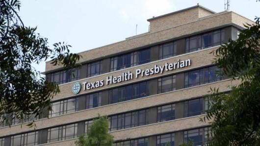 Chory przebywa w szpitalu w Dallas