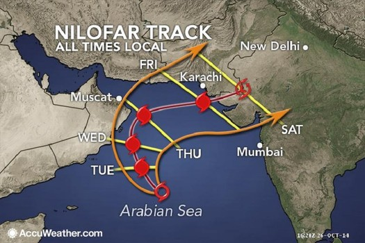 Cyklon tropikalny Nilofar