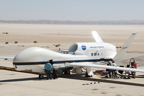 Dron Global Hawk - NASA