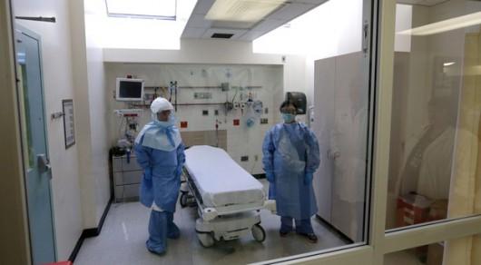 Zastępca szeryfa został przewieziony do szpitala /Justin Lane (PAP/EPA) /PAP/EPA