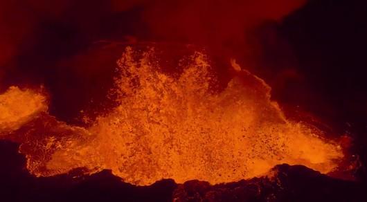 Erupcja szczelinowa w Islandii