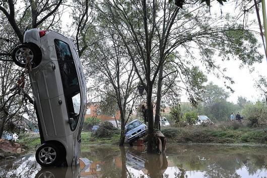 Francja - Silny wiatr i duże opady deszczu na południu kraju 1