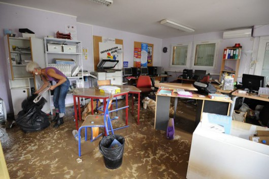 Francja - Silny wiatr i duże opady deszczu na południu kraju 11