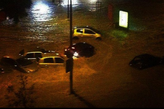 Francja - Silny wiatr i duże opady deszczu na południu kraju 6