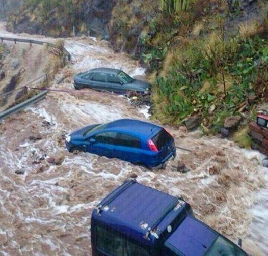 Hiszpania - Nad Teneryfą przeszła potężna ulewa, jedna osoba nie żyje 1