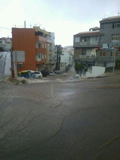 Hiszpania - Nad Teneryfą przeszła potężna ulewa, jedna osoba nie żyje 2