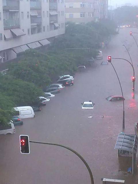 Hiszpania - Nad Teneryfą przeszła potężna ulewa, jedna osoba nie żyje 3