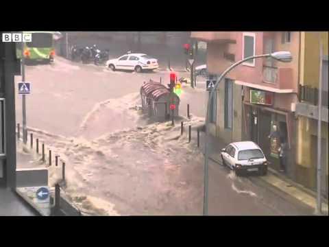 Hiszpania - Nad Teneryfą przeszła potężna ulewa, jedna osoba nie żyje 4