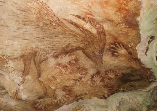 Indonezja - Rysunki na wyspie Sulawesi mają 40 tysięcy lat 1