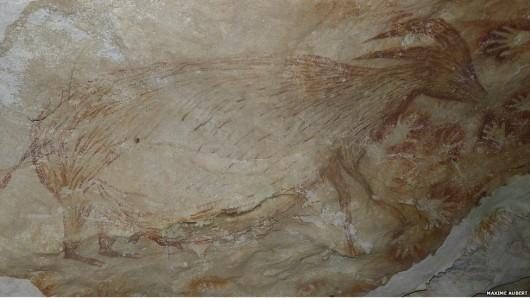 Indonezja - Rysunki na wyspie Sulawesi mają 40 tysięcy lat 4