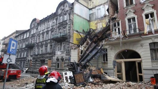 Katowice, Polska - Eksplozja gazu zniszczyła kamienicę 2