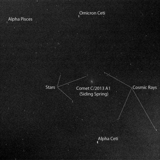 Kometa w obiektywie łazika Opportunity / NASA/JPL-Caltech/Cornell Univ./ASU/TAMU /