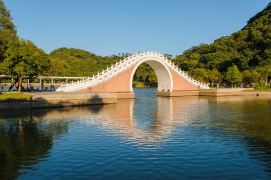 Księżycowy Most w Taipei, Tajwan