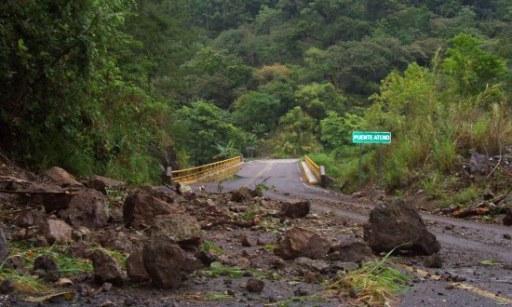 Meksyk - Powodzie i lawiny błotne na południu kraju 12