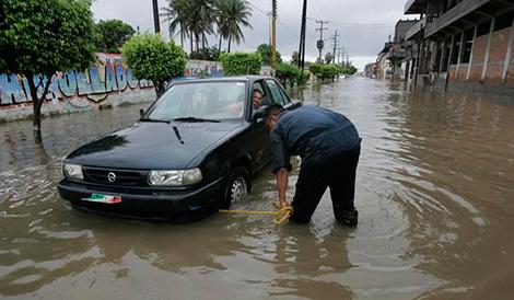 Meksyk - Powodzie i lawiny błotne na południu kraju 14