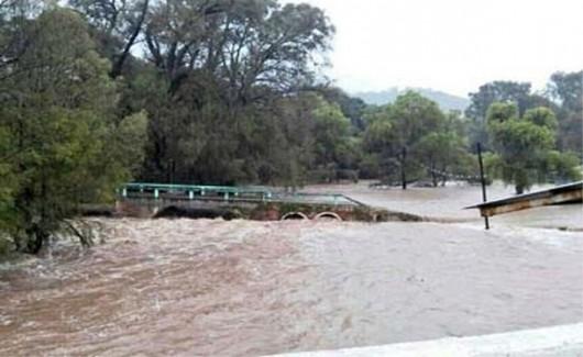 Meksyk - Powodzie i lawiny błotne na południu kraju 7
