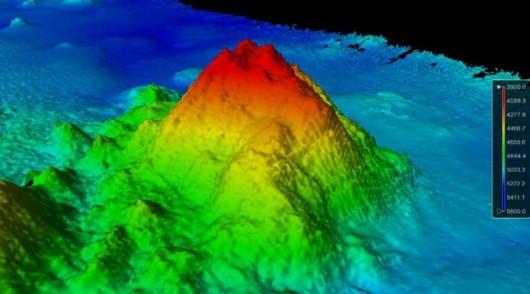 Na dnie oceanu odkryto nieznane dotąd pasma górskie