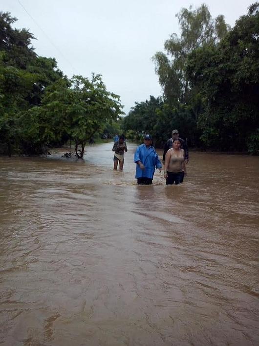 Nikaragua - Powódź z powodu silnych opadów deszczu 1