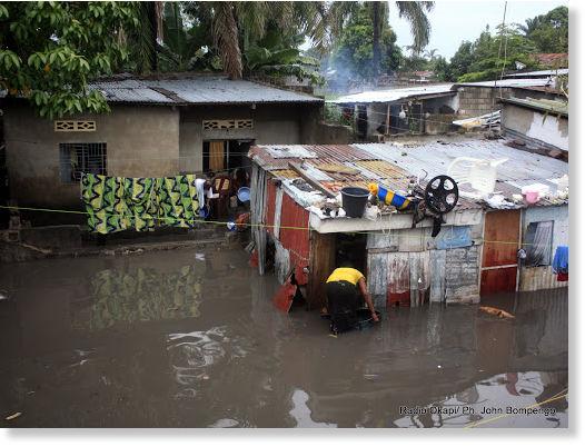 Nikaragua - Powódź z powodu silnych opadów deszczu 2