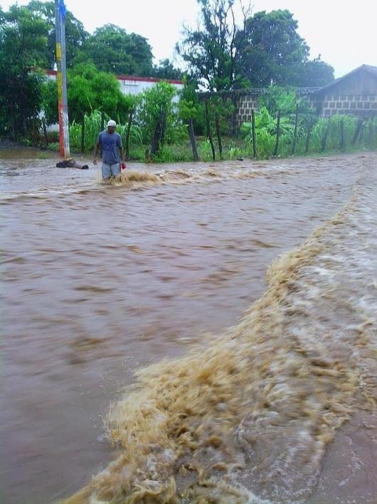 Nikaragua - Powódź z powodu silnych opadów deszczu 5