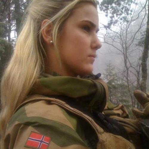 Norwegia - Kobieta w wojsku