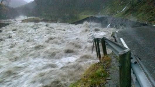 Norwegia - Ogromna powódź na zachodzie kraju z powodu ulewnych deszczy 1