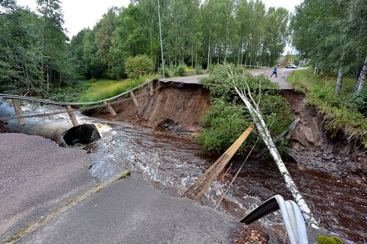 SWEDEN-WEATHER-FLOODS
