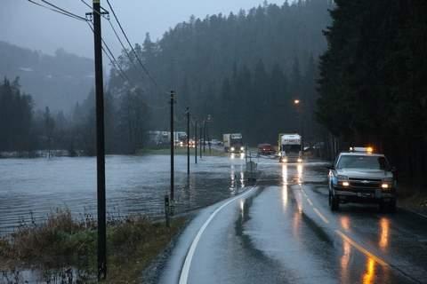 Norwegia - Ogromna powódź na zachodzie kraju z powodu ulewnych deszczy 4
