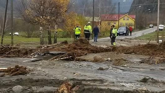 Norwegia - Ogromna powódź na zachodzie kraju z powodu ulewnych deszczy 7