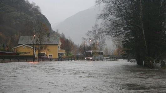 Norwegia - Ogromna powódź na zachodzie kraju z powodu ulewnych deszczy 8