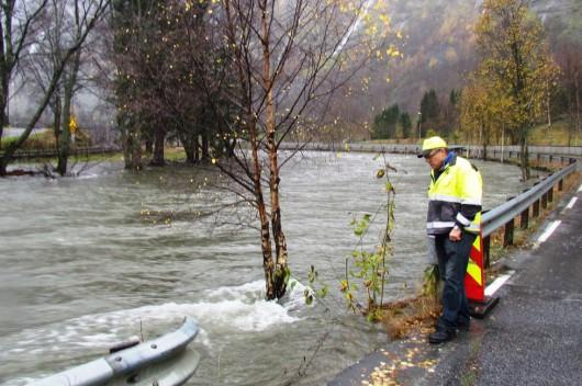 Norwegia - Ogromna powódź na zachodzie kraju z powodu ulewnych deszczy 9