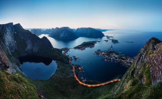 Norwegia w obiektywie Mortena Rustada