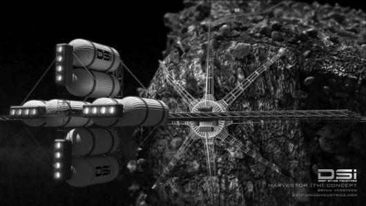 Pełnoskalowe kopanie w wizji Deep Space Industries