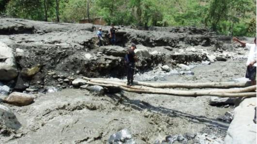 Peru - Intensywne opady deszczu i lawiny błotne przeszły przez region Yanatile