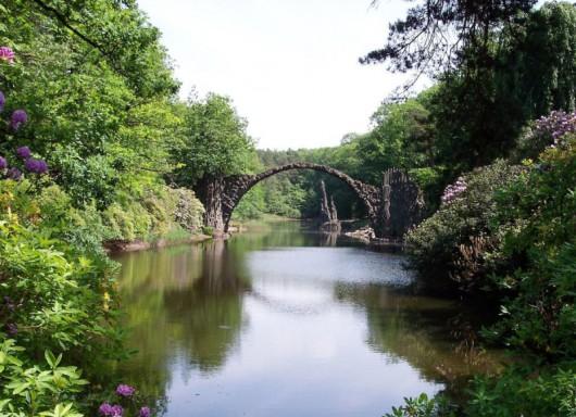 Rakotz Brücke, Niemcy