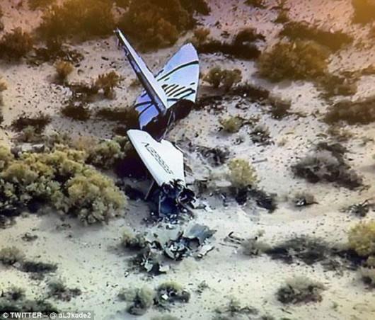 Rozbił się SpaceShipTwo 2