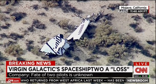 Rozbił się SpaceShipTwo 4