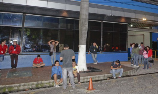 San Salwador po trzęsieniu ziemi