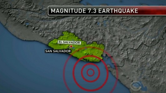 San Salwador - trzęsienie ziemi