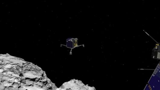 Sonda Rosetta i kometa 67P Czuriumow-Gierasimienko oraz lądownik Philae